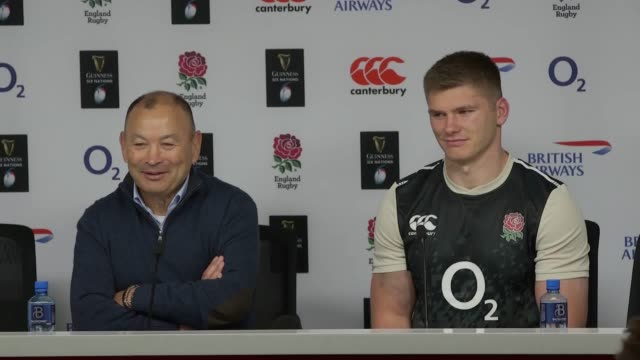 Head coach Eddie Jones and captain Owen Farrell react to England's convincing 448 victory over France at Twickenham The victory puts England top of...