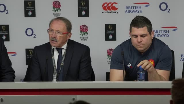 Head coach Jacques Brunel and captain Guilhem Guirado speak after France lost 448 to England at Twickenham The defeat leaves France fifth in the Six...