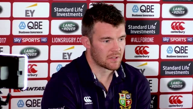 Head coach Warren Gatland and captain Peter O'Mahony preview the British and Irish Lions' first Test clash against New Zealand