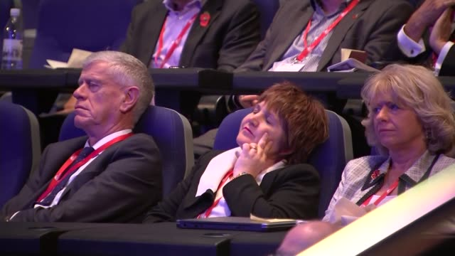 head of nhs calls for money promised by brexit campaign england west midlands birmingham int jeremy hunt mp along onto stage and speaking sot... - population explosion stock videos and b-roll footage