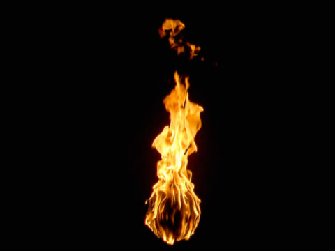 head of torch burning - flaming torch stock videos & royalty-free footage