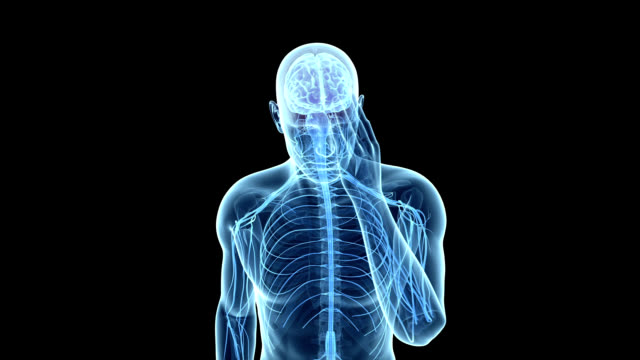headache - human brain stock videos & royalty-free footage