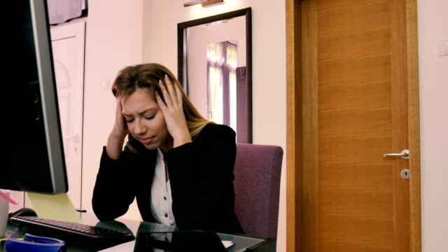 headache - defeat stock videos & royalty-free footage