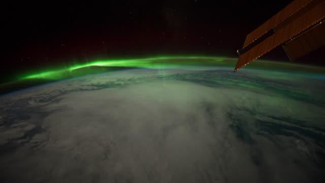 heading towards aurora australis time lapse - aurora australis stock videos & royalty-free footage