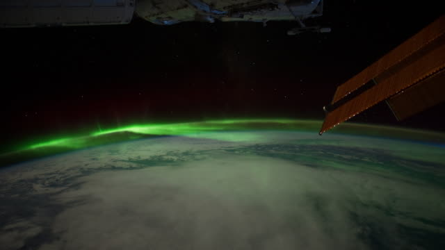 heading towards aurora australis - aurora australis stock videos & royalty-free footage