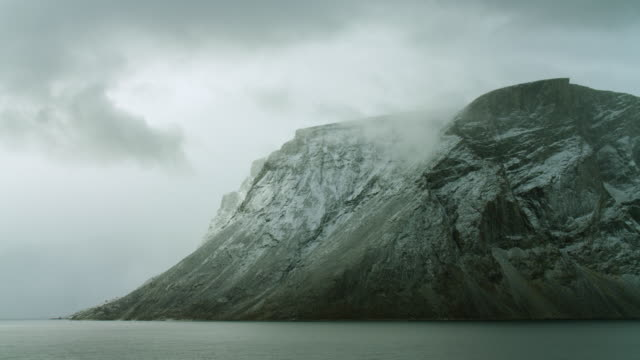headland on baffin island in northern canada - northwest passage stock videos and b-roll footage