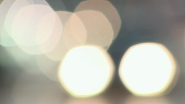 ms headlights of cars in rain / berlin, germany - lärm stock-videos und b-roll-filmmaterial