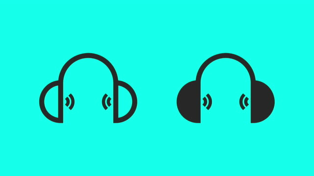 Headphone - Vector Animate
