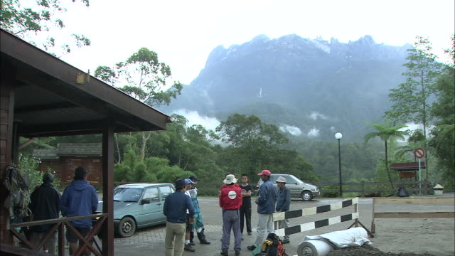 headquarters of kinabalu national park in malaysia   - mt kinabalu national park stock videos and b-roll footage