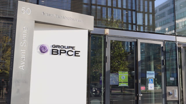 bpce headquarters - france stock videos & royalty-free footage