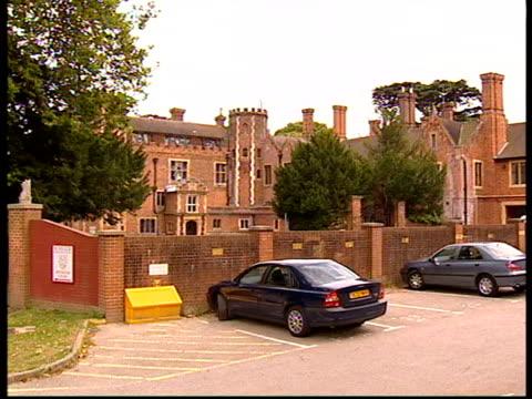 Headteacher jailed for theft LIB Kent West Wickham GV St John Rigby school Window in brick building at St John Rigby school