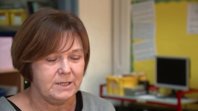 Headteachers talks of having to cut staff and teaching hours due to funding shortage ENGLAND Birmingham Osborne Primary School INT Various of...