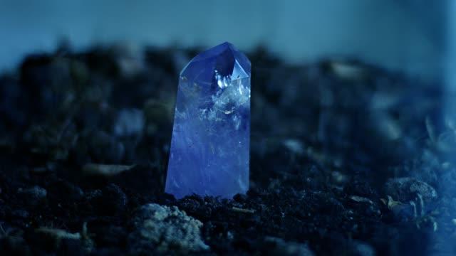 Healing crystal amethyst.