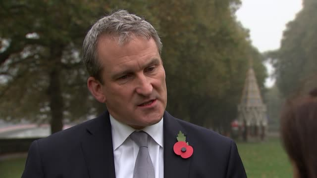 damian hinds interview england london westminster ext damian hinds mp interview sot - damian hinds stock videos and b-roll footage
