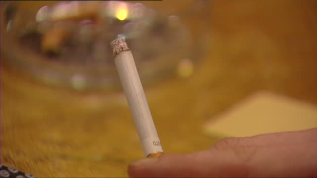 stockvideo's en b-roll-footage met health campaigners say tobacco companies should pay for the harm caused by smoking. a campaign is calling for a levy on the tobacco industry to help... - roca