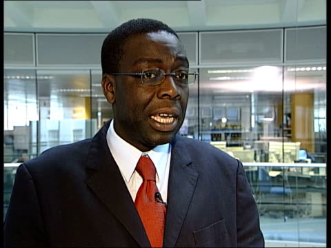 drugs campaign against drugs in schools launched itn lord adebowale interviewed sot if it was going to work it would have worked in the 1980s with... - temptation stock videos & royalty-free footage