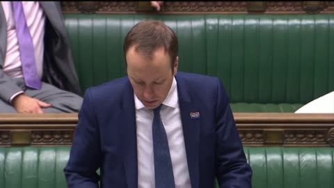 health secretary matt hancock give an update on the coronavirus pandemic in the house of commons, westminster. - house of commons stock videos & royalty-free footage
