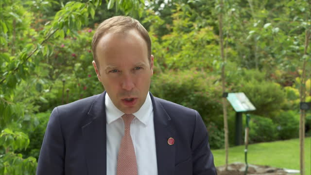 health secretary matt hancock saying data needs to be examined to see how effective vaccines are against coronavirus - decisions stock videos & royalty-free footage