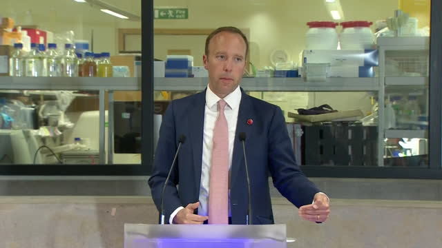 """health secretary matt hancock saying it is """"too early"""" to make a decision about the planned june 21st coronavirus reopening - decisions stock videos & royalty-free footage"""