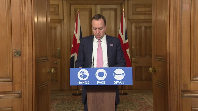 health secretary matt hancock saying the government will start rolling out the coronavirus vaccine in december - rolling stock videos & royalty-free footage