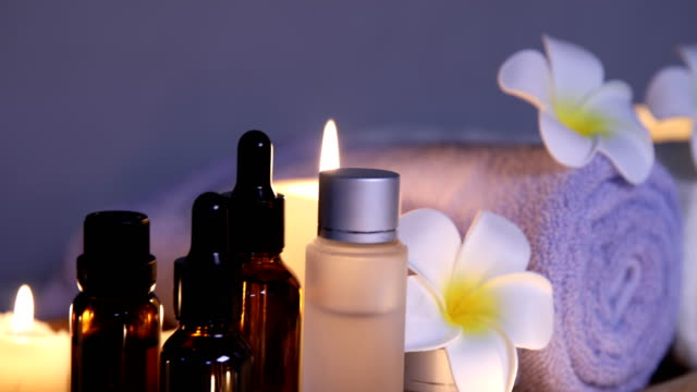 health spa - candle stock videos and b-roll footage