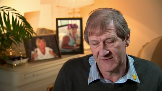 health watchdog says too many patients 'are dying without dignity' peter buckle interview sot - itvイブニングニュース点の映像素材/bロール