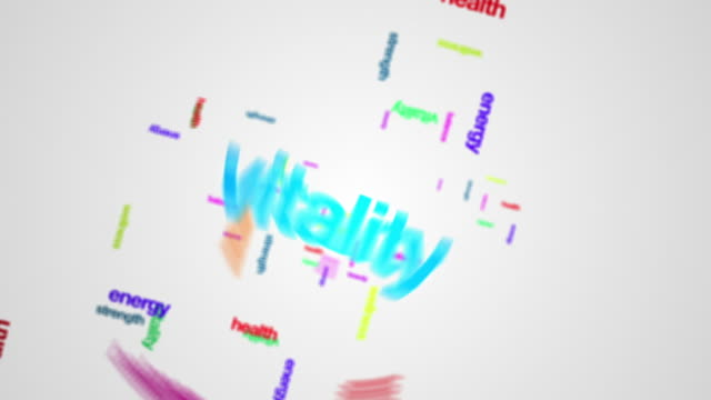 health words concepts - wellbeing stock videos & royalty-free footage