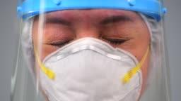 Healthcare exhausting during coronavirus COVID 19 novel corona virus outbreak
