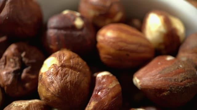 vídeos de stock e filmes b-roll de healthy and beneficial food - fruto seco