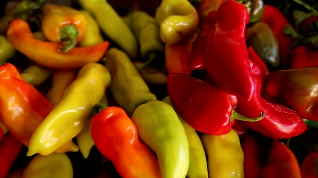 healthy food-pepper - bell pepper stock videos & royalty-free footage