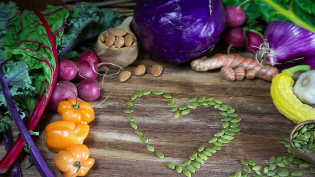Healthy Heart Vegetable Stop Motion