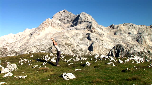 hd: healthy lifestyle - triglav national park stock videos and b-roll footage