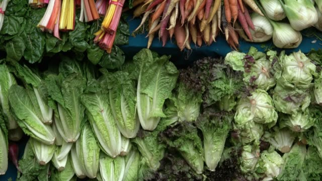Healthy Organic Vegetables at Farmer's Market Produce Stand