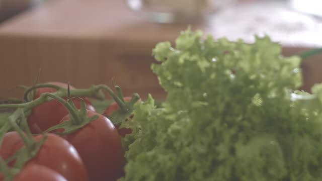 healthy organic vegetables - feta stock videos & royalty-free footage
