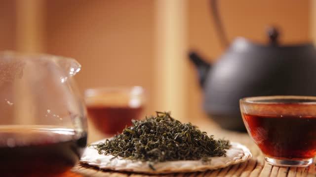vidéos et rushes de thé tradition saine - thé noir