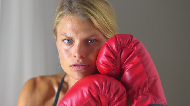 healthy woman athlete resting - one mid adult woman only stock videos & royalty-free footage