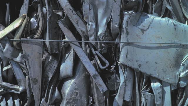 CU PAN Heap of recycled aluminum, Santa Barbara, California, USA