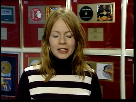 kim marsh leaving rumours itn england london emma jones interviewed sot every time you speak to hear'say they're keen to point out how friendly they... - 2002 stock videos & royalty-free footage