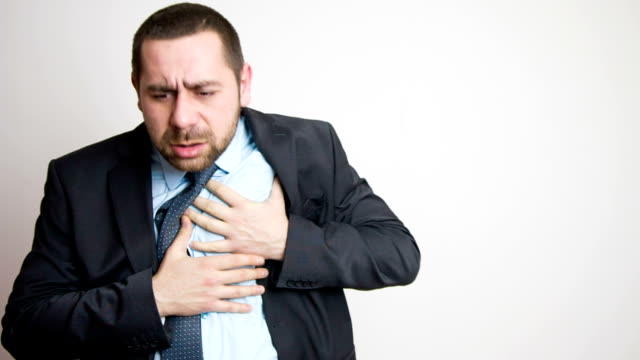 heart attack - hypertension stock videos and b-roll footage