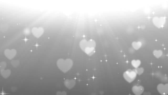 Coeur fond bouclables
