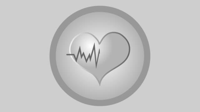 Heart beat heart pulse