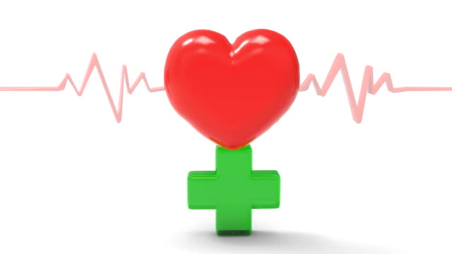heart beat - cardiac conduction system stock videos and b-roll footage