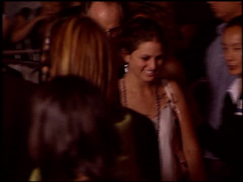 i heart huckabees premiere at the 'i heart huckabees' premiere at the grove in los angeles california on september 22 2004 - the grove los angeles stock videos & royalty-free footage