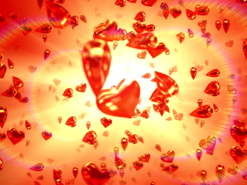 vídeos de stock, filmes e b-roll de coração do paraíso, circulares (arco, ntsc - parte de