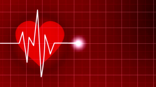 heart rate monitor animation - pulsating stock videos & royalty-free footage