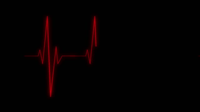 heart rate monitor - listening to heartbeat stock videos & royalty-free footage