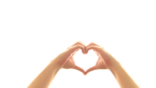 Heart Shape Hand Sign