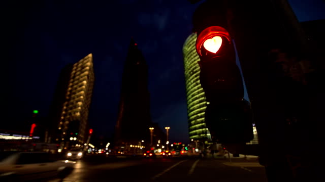 Heart Shaped Traffic Light Berlin