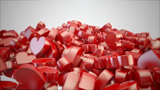 heart symbol  like icon 4k - enjoyment stock videos & royalty-free footage