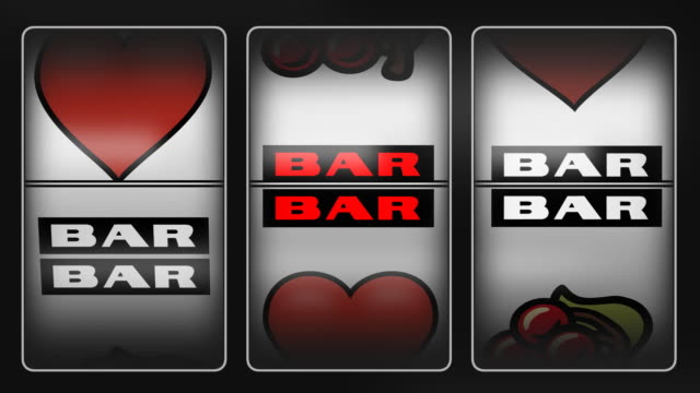 heart winner slot machine - cherry stock videos & royalty-free footage